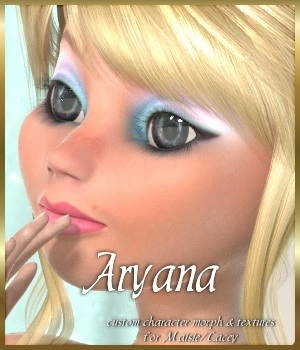 Aryana for Maisie 3D Figure Assets JudibugDesigns