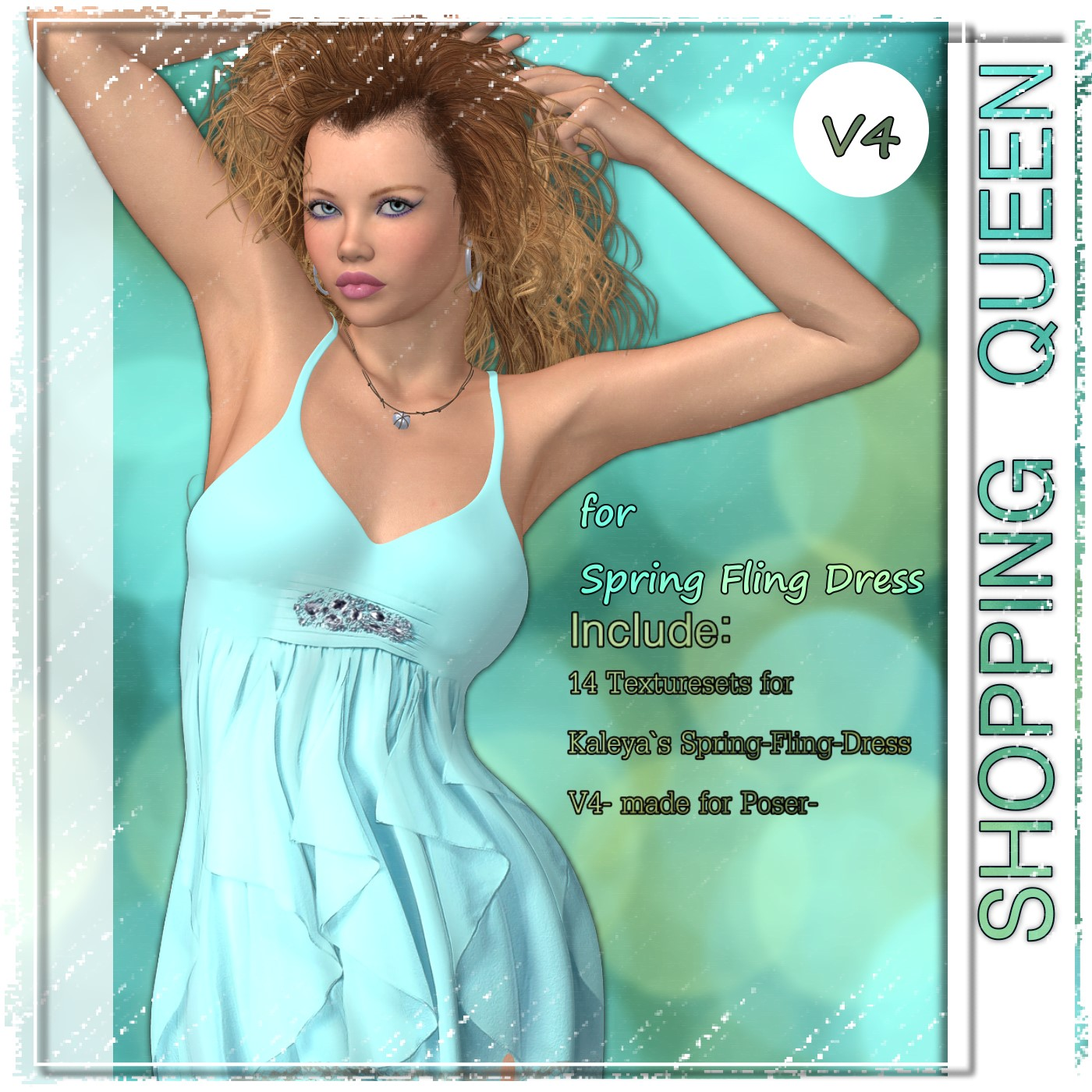 Shopping Queen: for Spring-Fling Dress V4