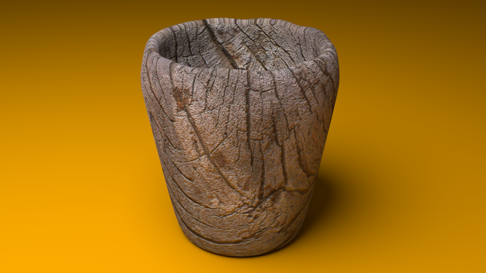 Wooden Cup - Extended License