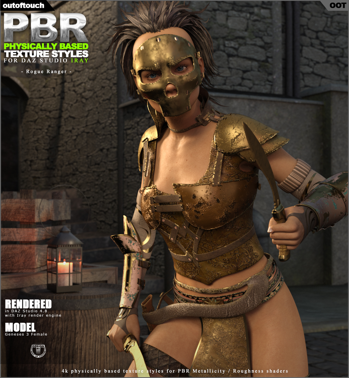 OOT PBR Texture Styles for Rogue Ranger