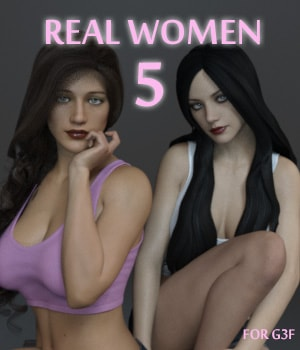 Real Women 5 3D Figure Assets AliveSheCried