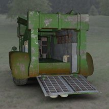Sci-Fi Truck - Heavy Duty (for DAZ Studio) image 3
