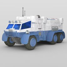 Sci-Fi Truck - Heavy Duty (for DAZ Studio) image 4