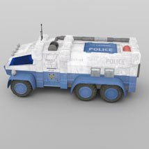 Sci-Fi Truck - Heavy Duty (for DAZ Studio) image 5
