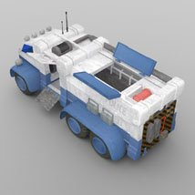 Sci-Fi Truck - Heavy Duty (for DAZ Studio) image 6