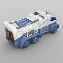 Sci-Fi Truck - Heavy Duty (for DAZ Studio) image 7