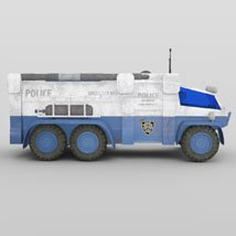 Sci-Fi Truck - Heavy Duty (for DAZ Studio) image 8
