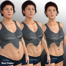 Rocky Tank Top for GENESIS 3 Females image 2