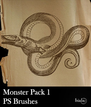 Monster Pack 1 2D Graphics biala