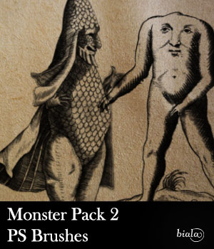 Monster Pack 2 2D Graphics biala