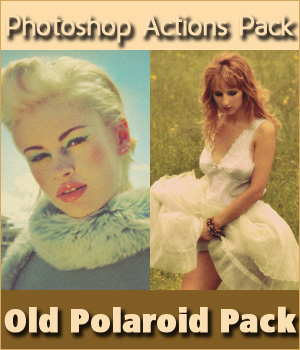 Old Polaroid Pack 2D Graphics MarieMcKennaDesigns