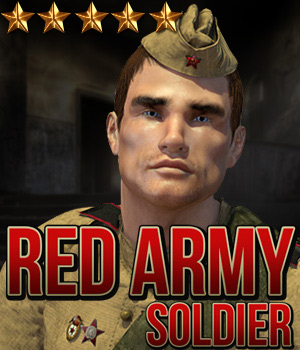Red Army: Soldier 3D Figure Assets Cybertenko