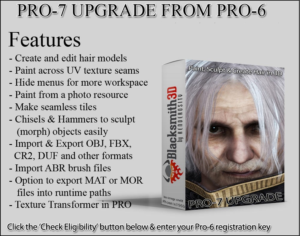 Pro-7 Upgrade from Pro-6