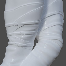 Mary High Boots for Genesis 3 Females image 6