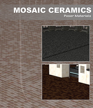 Poser - Mosaic Ceramics 2D Graphics Merchant Resources Atenais