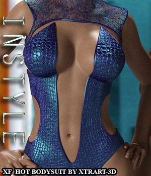 InStyle - X-Fashion Hot Bodysuit for Genesis 3 Females 3D Figure Assets -Valkyrie-