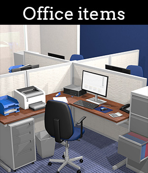 Everyday items, Office 3D Models 2nd_World