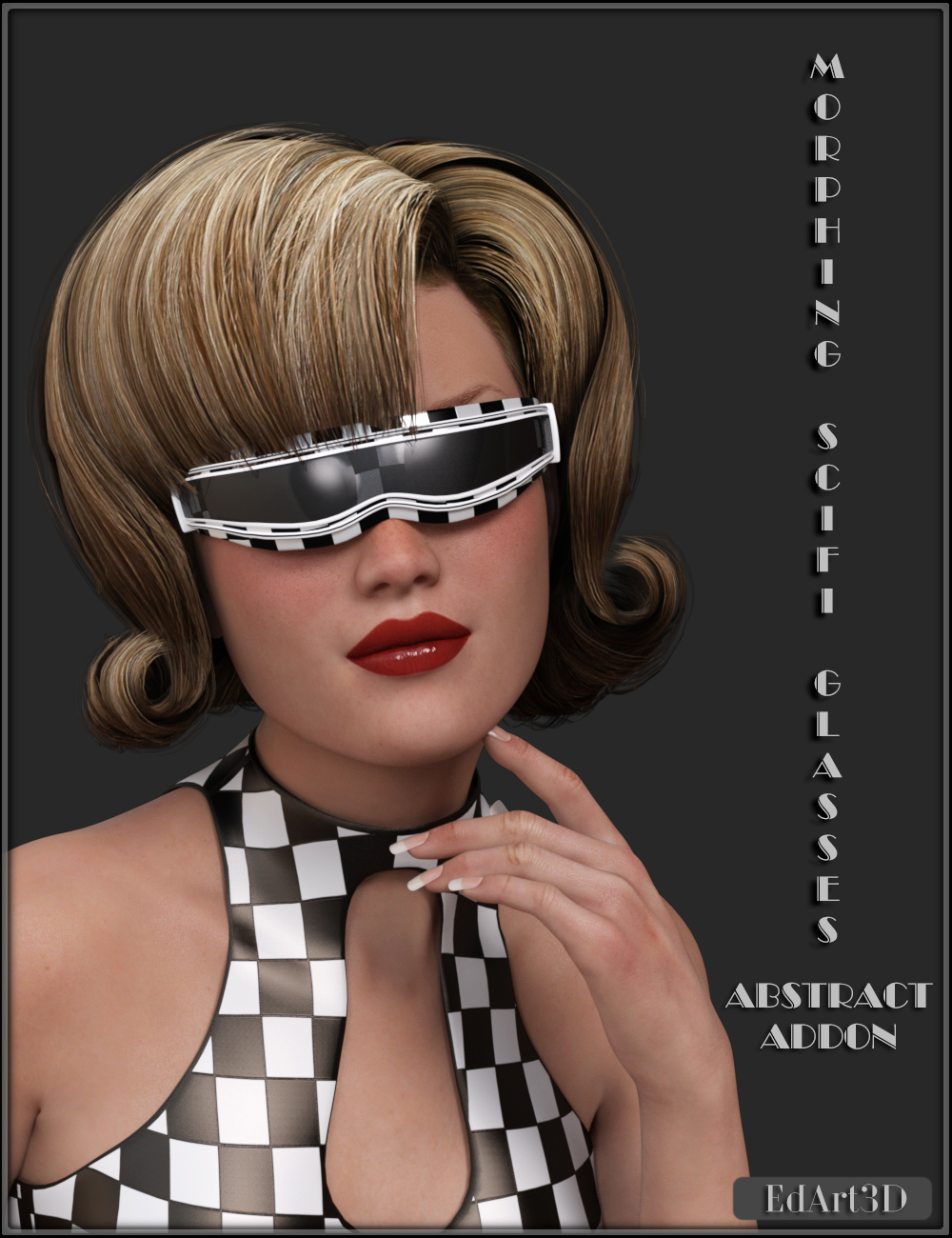 Morphing SciFi Glasses Abstract AddOn