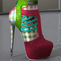 Holiday Chrissy High Boots G3F image 2