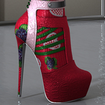 Holiday Chrissy High Boots G3F image 9