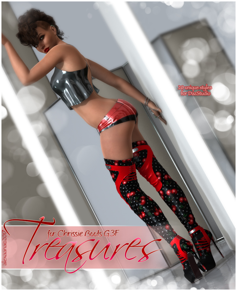 Treasures Chrissy High Boots G3F