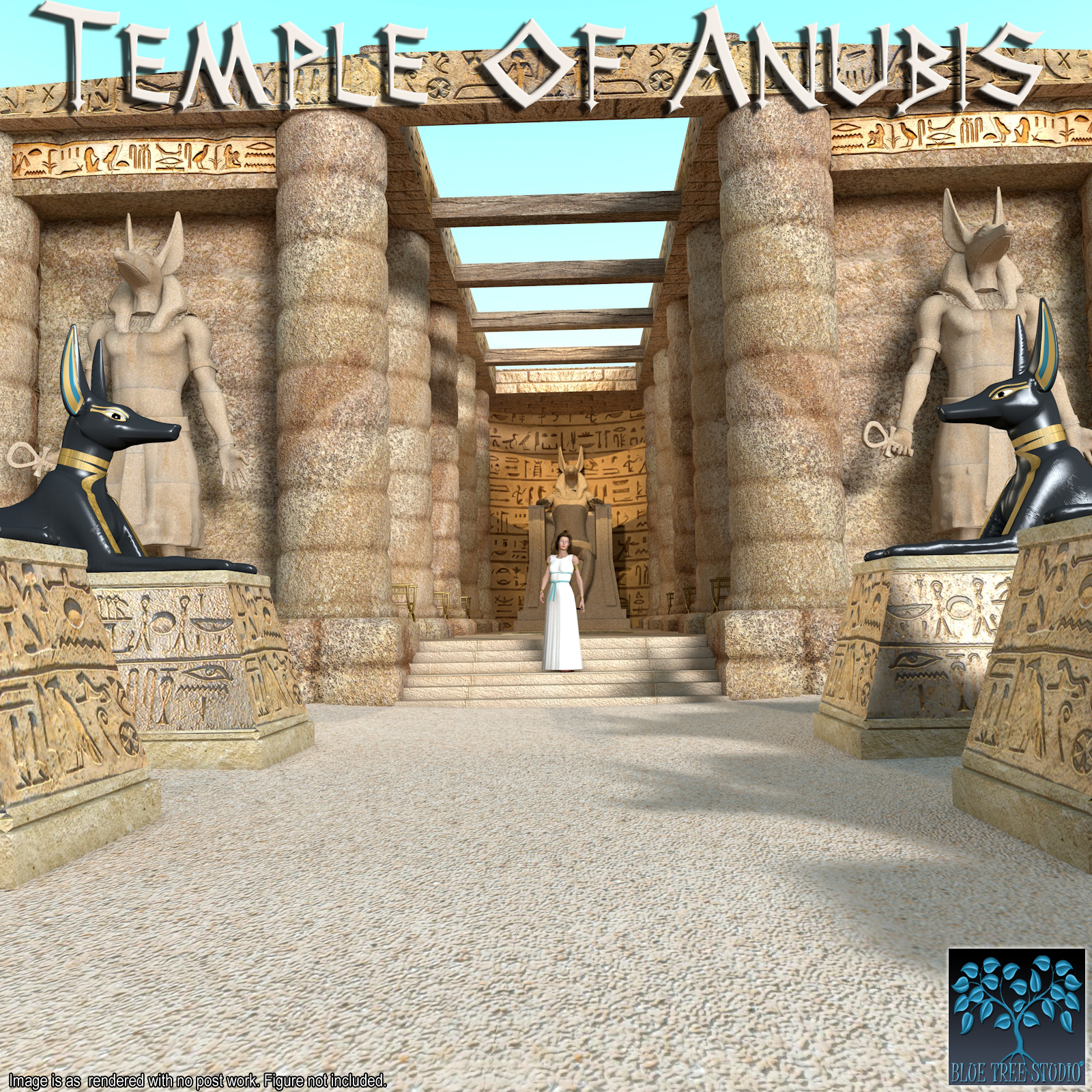 Temple of Anubis by BlueTreeStudio
