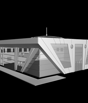 M28 Modern Building - Extended License 3D Game Models : OBJ : FBX 3D Models Extended Licenses RPublishing
