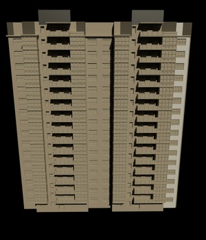 M29 Apartment -Extended License 3D Game Models : OBJ : FBX 3D Models Extended Licenses RPublishing