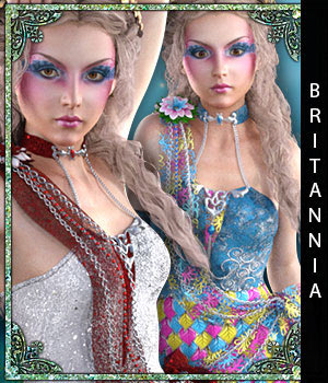 Britannia for Breena 3D Figure Assets sandra_bonello