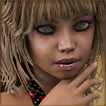 TDT-Malorie for Genesis 3 Female image 1