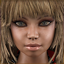 TDT-Malorie for Genesis 3 Female image 2