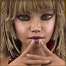 TDT-Malorie for Genesis 3 Female image 3