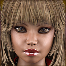 TDT-Malorie for Genesis 3 Female image 4