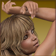 TDT-Malorie for Genesis 3 Female image 5
