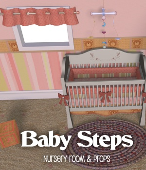 Baby Steps Nursery 3D Models JudibugDesigns