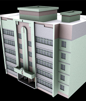 M35 Hotel - Extended License 3D Game Models : OBJ : FBX 3D Models Extended Licenses RPublishing