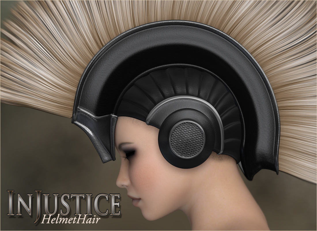 InJustice - HelmetHair