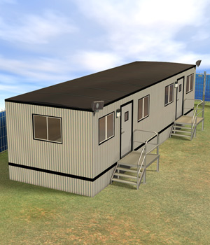 Construction Trailer by Richabri
