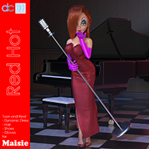 Red Hot Character and Clothes for Maisie image 1