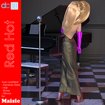 Red Hot Character and Clothes for Maisie image 2