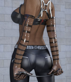 Wetlook Outfit 2 for Genesis 3 Females 3D Figure Assets Ishbo