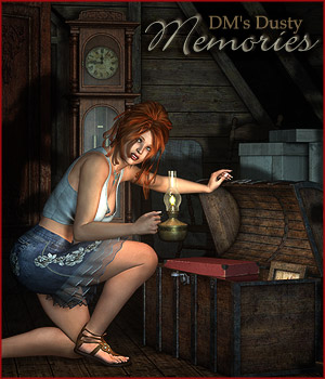 DMs Dusty Memories - Extended License 3D Figure Assets 3D Models Extended Licenses DM