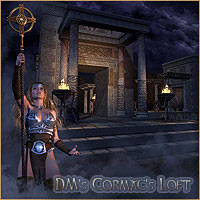 DMs Cormacs Loft - Extended License 3D Models 3D Figure Assets Extended Licenses DM