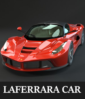 LaFerrara Car 3D Models TruForm