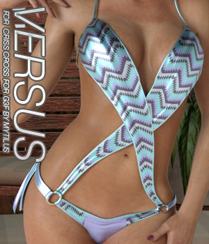 VERSUS - Criss Cross for Genesis 3 Females 3D Figure Assets Anagord