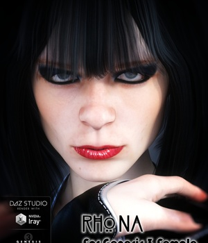 Rhona for Genesis 3 Female 3D Figure Assets brahann