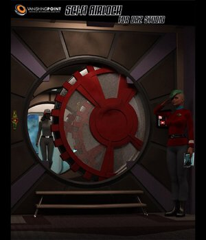 Sci-Fi Airlock (for DAZ Studio) 3D Models VanishingPoint