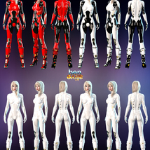 Jupiter Armor iray Materials for SF BodySuit and SF Boots image 3