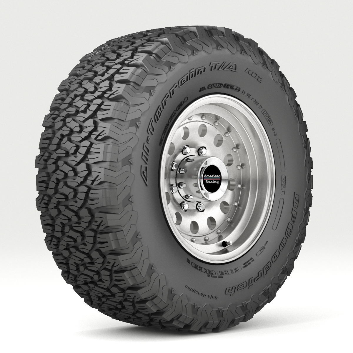 Off Road wheel and tire 5 - Extended License