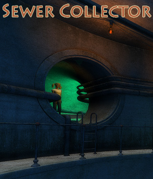 Sewer Collector 3D Models 1971s